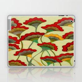 Poppies (warm) Laptop & iPad Skin