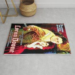 Vintage poster - Lorna Doone Rug