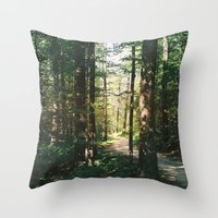 vermont Throw Pillows featuring Vermont by marisa ann
