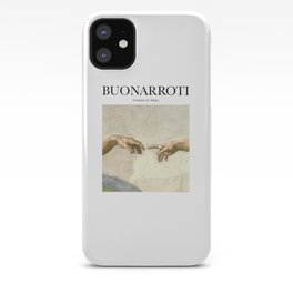 Buonarroti - Creation of Adam iPhone Case