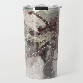 Lobster Watercolor Travel Mug