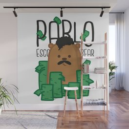Pablo Escobear Wall Mural