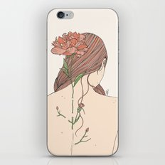 Let Me Blossom iPhone Skin