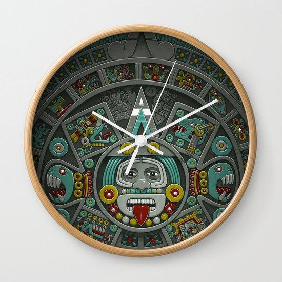 Stone of the Sun II. Wall Clock