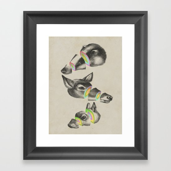 multiplicity Framed Art Print