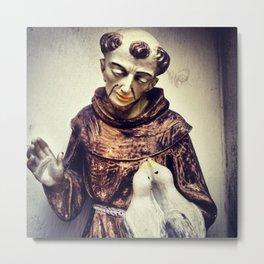 Saint Metal Print