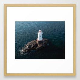Sakonnet Light Framed Art Print