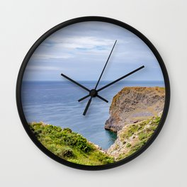 Thurba Head on the Welsh Coast Wall Clock