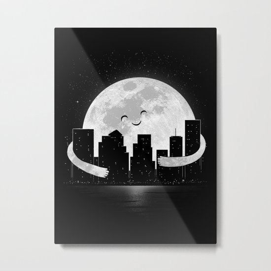 Goodnight Metal Print