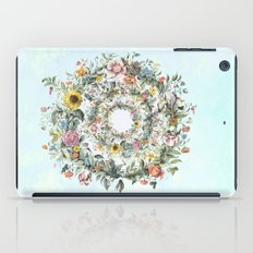 Circle of Life Blue iPad Case