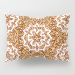 Colored Pencil Mandala 2 Pillow Sham