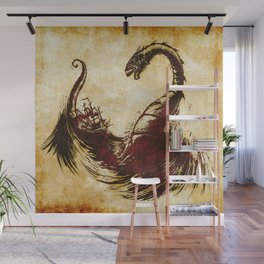 The Great Sea Wyrm Wall Mural