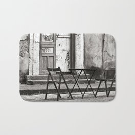 Just Two Chairs of Catania in Sicily Bath Mat