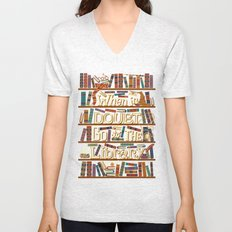 Go to the library Unisex V-Neck