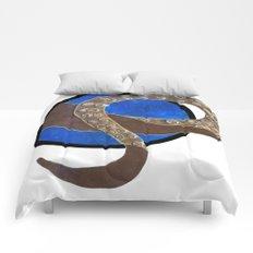 Creature of Water (porthole edit) Comforters