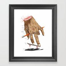 FREE HAND Framed Art Print