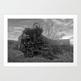 Stone Crusher, Forth Mountain, Co. Wexford Art Print