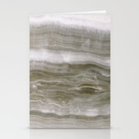 marble Stationery Cards featuring Marble by Santo Sagese