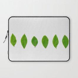 Brisk Bright Leaves Laptop Sleeve