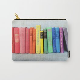 Rainbow Vintage Books Carry-All Pouch