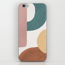 Abstract Earth 1.2 - Painted Shapes iPhone Skin