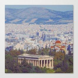 Ancient Cityscape Canvas Print