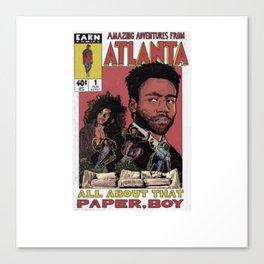 The Amazing Adventures in Atlanta Canvas Print