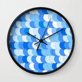 She-quins Blu Wall Clock