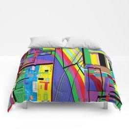 Geometry Abstract Comforters