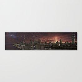 Toronto Skyline 2 Canvas Print