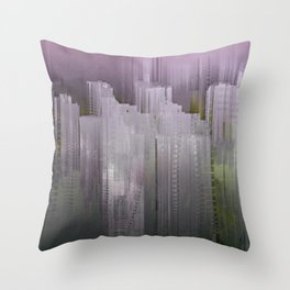Melancholy / Floating Town / 30-11-16 Throw Pillow