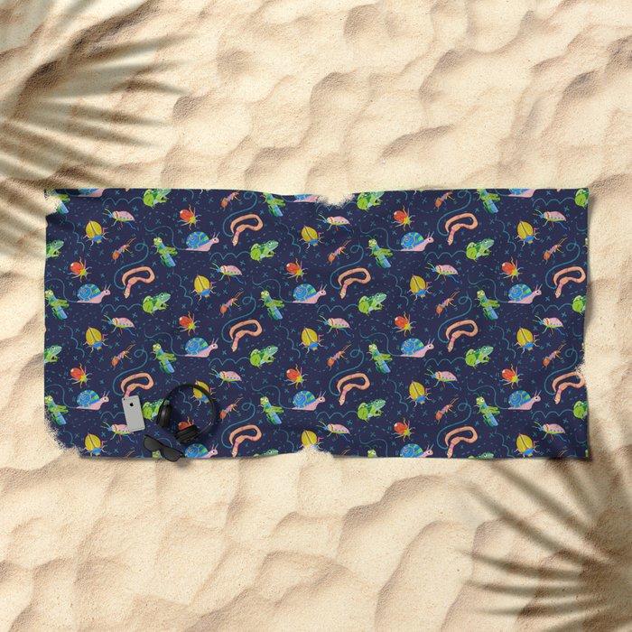 Bug Party Beach Towel