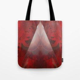 FX#411 - Red Pyramid GO! Tote Bag