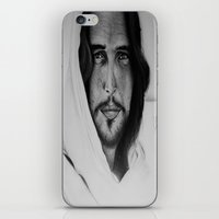 christ iPhone & iPod Skins featuring Christ by Michela Adjei