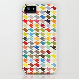 Hirstooth Pattern iPhone Case