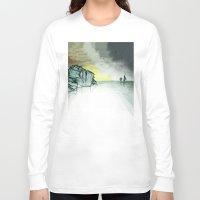 sailing Long Sleeve T-shirts featuring Sailing by Brontosaurus