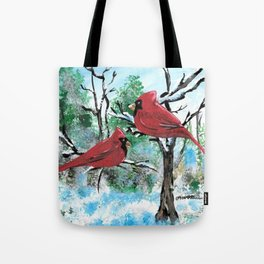 Cardinals II Tote Bag