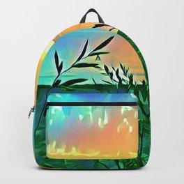 Golden Morning Glory Backpack