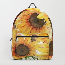 Sunflowers Bloom  Backpack