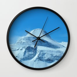 The imposing peak of Gjaidstein, Austria Wall Clock