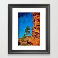 Red Rocks Colorado Framed Art Print