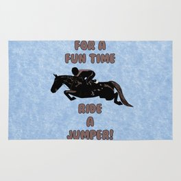 For a Fun Time, Ride A Jumper! Horse Rug