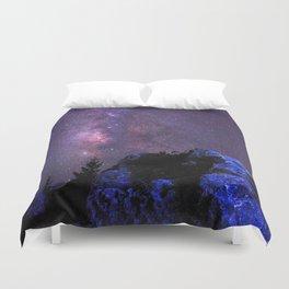 Moon Rocks Duvet Cover