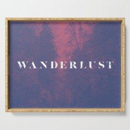 Wanderlust Serving Tray