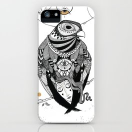Bird Women 2 iPhone Case