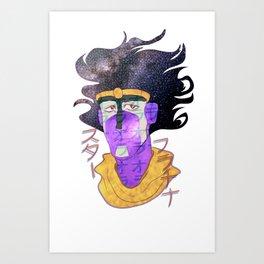 スター・プラチナ Art Print