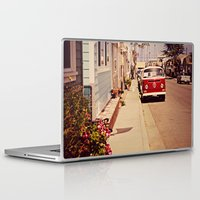 vw bus Laptop & iPad Skins featuring VW BUS by INEVITABLE 27