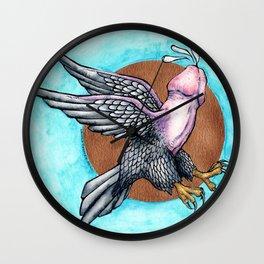 Flying Fuck Wall Clock
