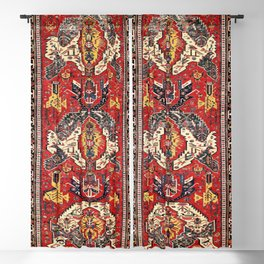 Dragon Sumakh Antique East Caucasus Kuba Rug Print Blackout Curtain