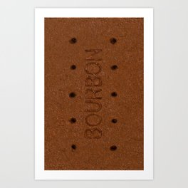 Bourbon biscuit iphone cover Art Print
